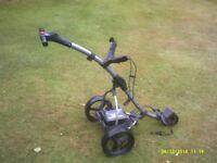 Motocaddy S1 digital golf trolley
