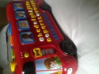 V-Tech Playtime Bus with Phonics