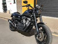 Harley Davidson XR1200 in black