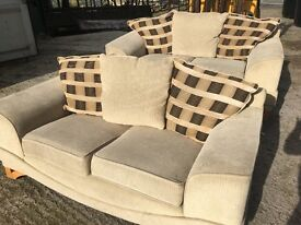 2 fabric 2 seaters