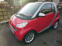 2010 SMART FORTWO PASSION 84 AUTO,12 months mot,70mpg,£20 road tax.