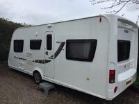 6 berth touring caravan. Elddis Avante 566 2013.