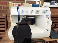 Toyota quiltmaster walking foot sewing machine