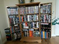 Dvd cabinet and dvds