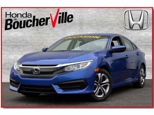 2016 Honda Civic LX Garantie complète 60,000km ou mai 2019