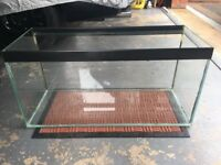 Fish aquarium 30inchesx15inchesx12inches