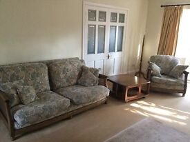Ercol Bergere lounge suite