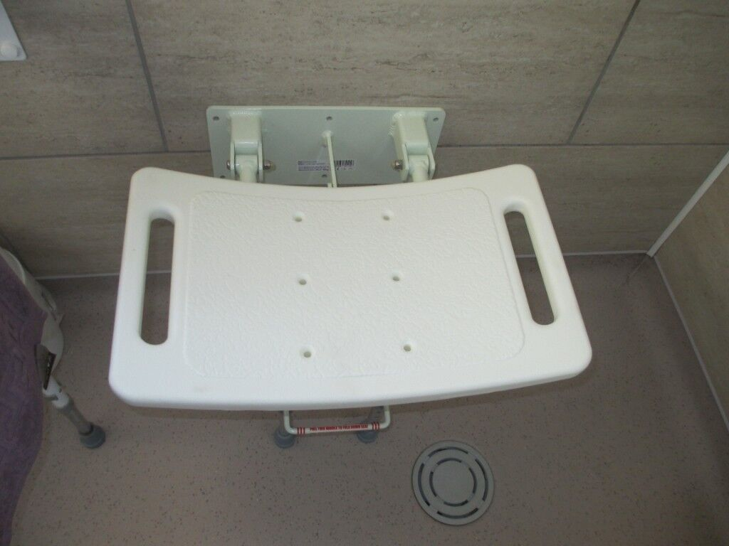 A FOLDING WALL MOUNTED SHOWER SEAT   in Walsall, West Midlands   Gumtree