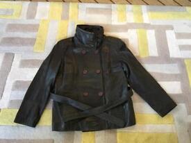 Lakeland Ladies Black Leather Jacket