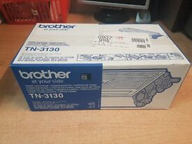 Brother Original TN3130 Black Toner. Brand New Sealed.