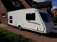 Elddis Advante 556 2010 6th birth caravan includes motor mover and awning