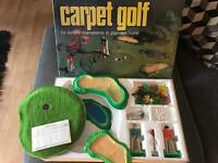 Carpet golf turner research