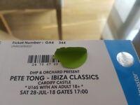 Pete Tong - Ibiza Classics Ticket