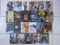 Manga Studio Ghibli Anime Akira bundle collection DVDs boxsets & Bleach book x23