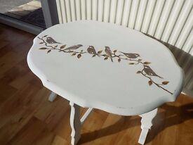 vintage folding table