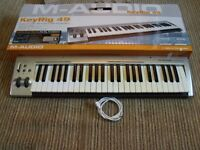 $$SOUND$$ M-AUDIO KEYRIG 49 USB KELECTRIC KEYBOARD/PIANO DUNDEE/DELIVER $$SOUND$$