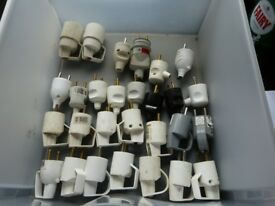 French plugs and extension leads