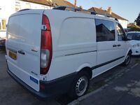 2009 MERCEDES VITO 2.2 DIESEL 6 SEATER WHITE 130 000 MILES SOME HISTORY