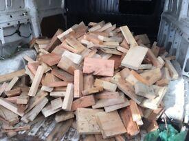 Fire wood wooden off cuts