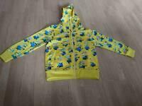 Size 4-5 boys minion zippy jumper