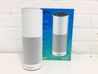 Amazon Echo + Original Box - White - 3 Months Old - 9 Month Warranty