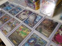 500+ 1st Edition Japanese / English Pokemon Cards, Promo Cards, Ultra rares, Ex's, Secret Rares!!!