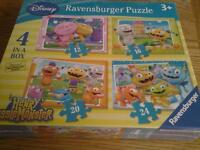 Brand new and sealed Disney Store Henry Hugglemonster 4 in a box puzzle