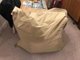 Mint condition Fatboy bean bag sand colour