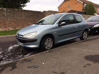 Peugoet 206 (look) Low Mileage