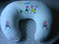 Breast feeding pillow with cover