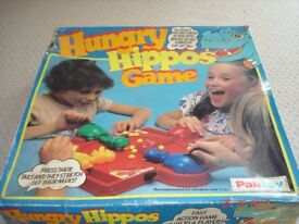 Vintage Hungry Hippo Game