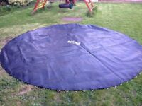 14 foot Trampoline 88 rings/springs