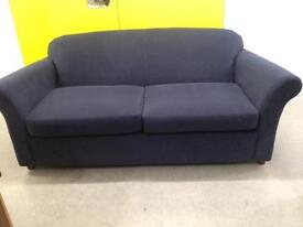 "Large blue two seater sofa""FREE LOCAL DELIVERY """
