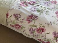 Dorma super king size bedding, curtains and blackout blinds