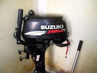 SUZUKI 6HP 4 STROKE BOAT ENGINE VERY GOOD CONDITION WITH EXTRAS