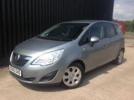 2010 Vauxhall Meriva 1.4 i 16v Exclusiv 5dr (a/c) 2 Previous Owners, 2 Keys, 12 Months MOT May PX