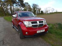 2008 DODGE NITRO 2.8 LITRE DIESEL ,MOT DEC 2017,PREMIUM MUSIC SYSTEM,AUTOMATIC GEARS,HEATED SEATS,