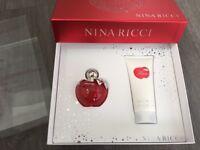 New Boxed Nina Ricci NINA Gift Set 50ml Eau de Toilette & 100ml Body Lotion