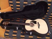 IBANEZ ALL SOLID WOOD ACOUSTIC WITH FITTED HARDCASE COST £450