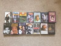 15 Audio Music Cassette Tapes