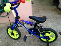 Kids Blue Thunder Avigo BMX Bike