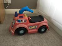 Fisher Price Little People Ride On Fire Engine