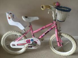 """Girls Bike 15"""" Wheels"""