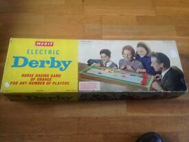 Merit electronic 1950's derby game