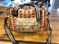 Changing bag blooming gorgeous