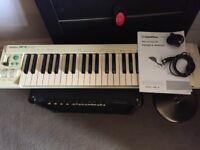 MIDI Keyboard : Goldstar GMK-49 (GMK49) with Pressure Keys - Includes 2x MIDI leads and User Manual