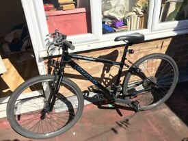 Women's black Subway One Carrera Hybrid bike