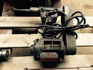 Grinder, dumore tool post, 3/4 hp, mod. 8476 03110,  120 v plug in,