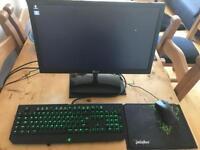 Quad core 4 GHz, R9 270x, Gaming PC setup