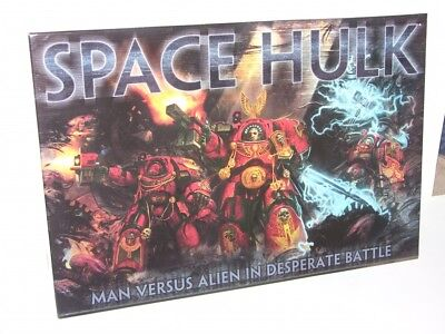 Space hulk board game, new in box. complete set.